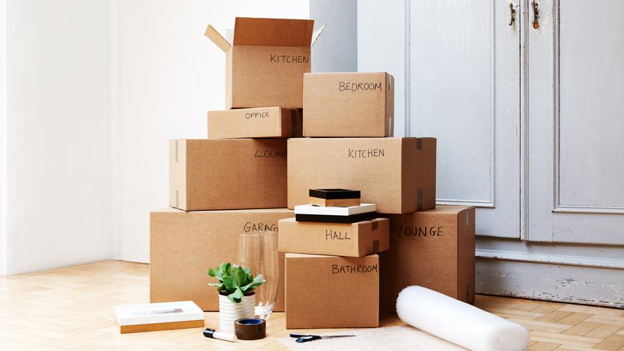 Cách dùng thùng carton hiệu quả khi dọn nhà